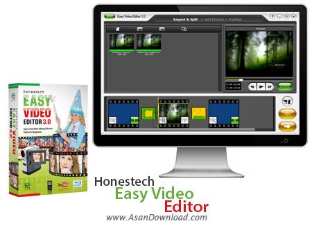 دانلود Honestech Easy Video Editor v3.1.931.0 - نرم افزار ویرایش ساده فیلم ها