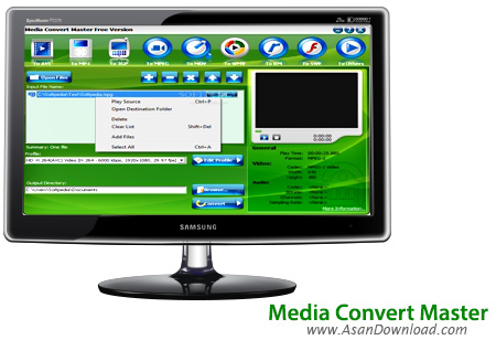دانلود Media Convert Master v10.0.2.2 - نرم افزار حرفه ای مبدل فایل های مالتی مدیا