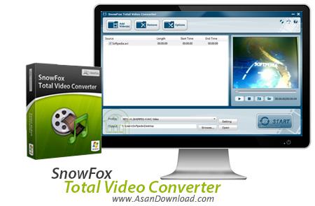 دانلود SnowFox Total Video Converter v3.5.0.0 - مبدل قدرتمند فایل های ویدئویی
