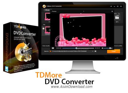 دانلود TDMore DVD Converter v1.0.1.0 - نرم افزار مبدل DVDها