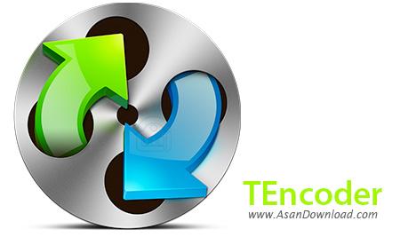 دانلود TEncoder v4.5.6 x86/x64 - ابزار تبدیل فرمت های صوتی و تصویری