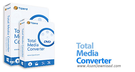 دانلود Tipard Total Media Converter v9.2.26 + Platinum v9.2.18 - نرم افزار مبدل فایل های چند رسانه ای