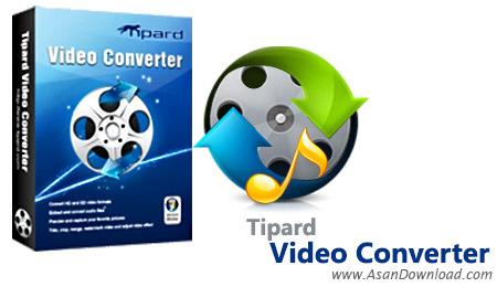 دانلود Tipard Total Media Converter Platinum v9.2.12 + Blu-ray Converter v9.2.12 - نرم افزار مبدل فایل های چند رسانه ای