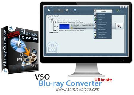 دانلود VSO Blu-ray Converter Ultimate v4.0.0.84 - نرم افزار مبدل بلوری