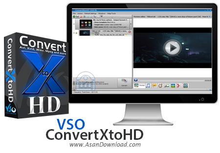دانلود VSO ConvertXtoHD v3.0.0.58 - نرم افزار تبدیل فیلم به فرمت HD