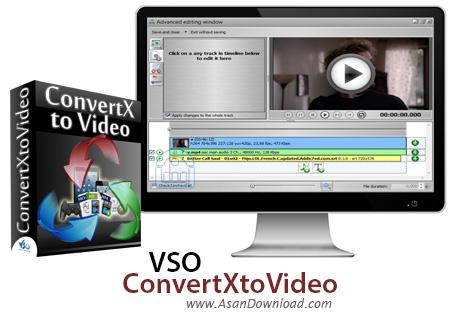 دانلود VSO ConvertXtoVideo Ultimate v2.0.0.68 - نرم افزار تبدیل فرمت های ویدئویی