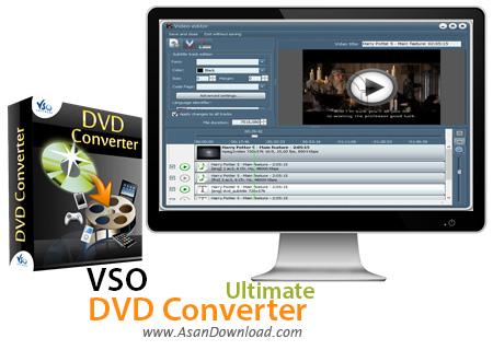 دانلود VSO DVD Converter Ultimate v4.0.0.84 - نرم افزار مبدل فیلم های DVD
