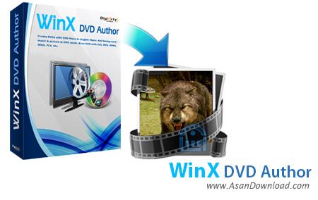 دانلود WinX DVD Author v6.3.6 - نرم افزار ساخت دی وی دی فیلم