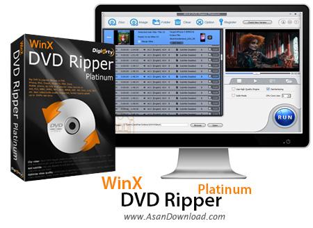 دانلود WinX DVD Ripper Platinum v7.5.11.141 - نرم افزار مبدل دی وی دی ها
