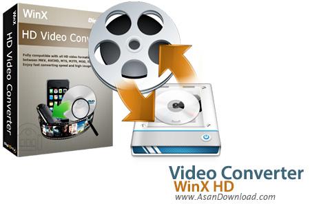 دانلود WinX HD Video Converter Deluxe v5.12.1.295 - نرم افزار تبدیل فرمت های ویدئویی به یکدیگر