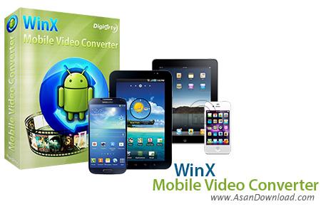 دانلود WinX Mobile Video Converter v4.0.1 - مبدل ویدئویی برای موبایل ها