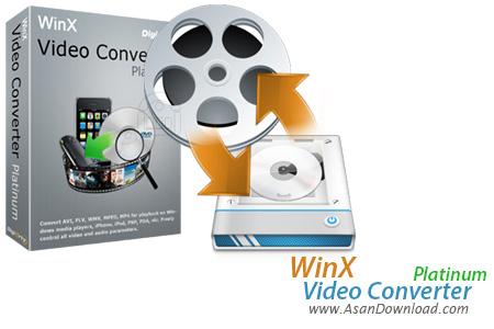 دانلود WinX Video Converter Platinum v5.9.2 - نرم افزار تبدیل فیلم ها با نهایت کیفیت
