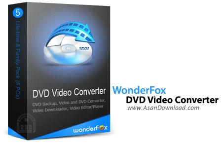 دانلود WonderFox DVD Video Converter v15.0 - نرم افزار تبدیل DVD