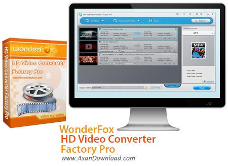 دانلود WonderFox HD Video Converter Factory Pro v13.0 - مبدل فیلم ها با کیفیت بالا