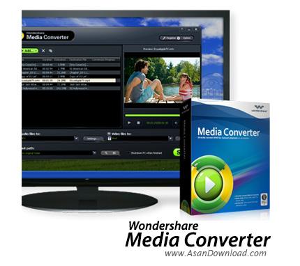 دانلود Wondershare Media Converter v1.4.1 - نرم افزار مبدل مالتی مدیا
