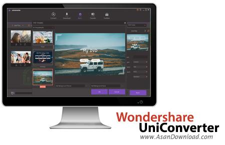 دانلود Wondershare UniConverter v12.0.3.5 - مبدل ویدئویی