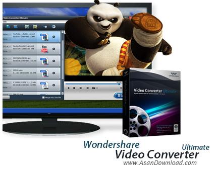 دانلود Wondershare Video Converter Ultimate v10.3.1.182 - نرم افزار مبدل فایل های ویدئویی