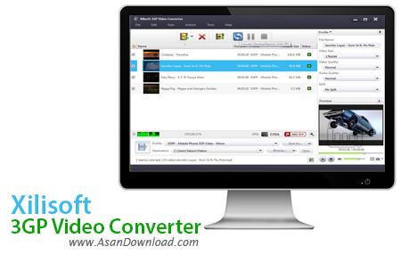 دانلود Xilisoft 3GP Video Converter v7.6.0 - مبدل قدرتمند فرمت 3GP