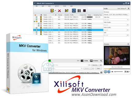 دانلود Xilisoft MKV Converter v7.8.12 - نرم افزار تبدیل فرمت MKV