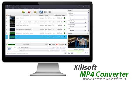 دانلود Xilisoft MP4 Converter v7.8.12 - نرم افزار تبدیل فرمت MP4