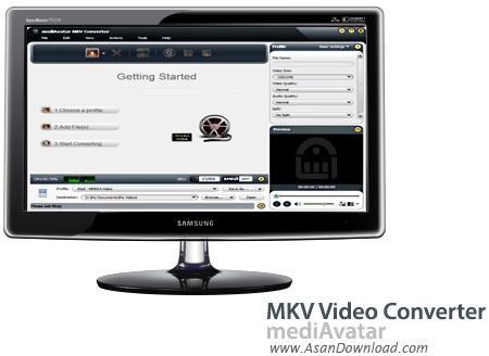 دانلود mediAvatar MKV Video Converter v6.0.9.0802 - مبدل ویدئویی فرمت MKV