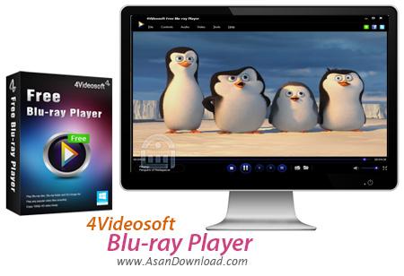 دانلود 4Videosoft Blu-ray Player v6.1.80 - نرم افزار پخش فیلم های بلوری