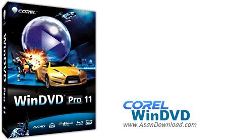 دانلود Corel WinDVD Pro v12.0.0.62 SP1 - نرم افزار نمایش فیلم های دی وی دی