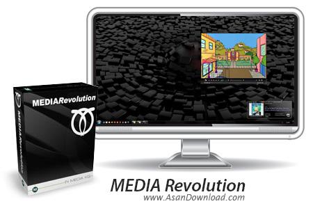 دانلود MEDIA Revolution v3.2.2 - دانلود پلیری حرفه ای و کارآمد