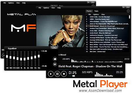 دانلود Metal Player v4.0.3.4 - نرم افزار رایگان پخش فایلهای چند رسانه ای