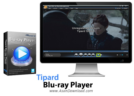 دانلود Tipard Blu-ray Player v6.1.58 - نرم افزار پلیر بلوری