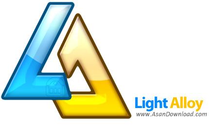 دانلود Light Alloy v4.9.2 Build 2516 - نرم افزار پخش فایل های صوتی و تصویری