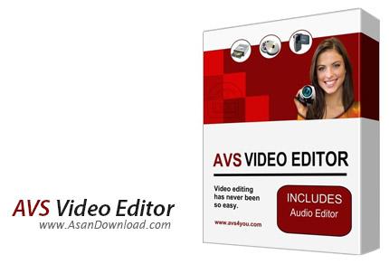 دانلود AVS Video Editor v9.1.1.336 - نرم افزار ویرایش و تدوین فایل های ویدئویی