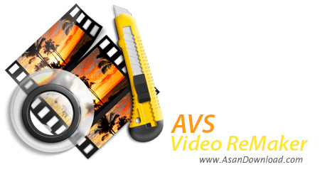 دانلود AVS Video ReMaker v6.3.1.230 - نرم افزار ویرایش فیلم بدون تبدیل خروجی