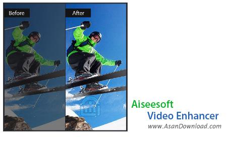 دانلود Aiseesoft Video Enhancer v1.0.22 - نرم افزار بهینه سازی کیفیت فیلم ها