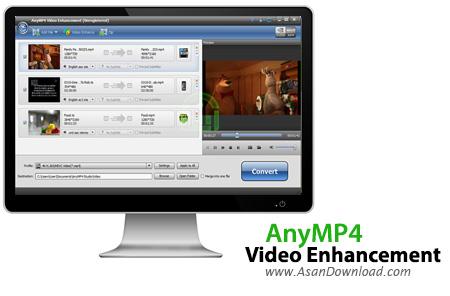 دانلود AnyMP4 Video Enhancement v7.2.10 - نرم افزار افزایش کیفیت فیلم