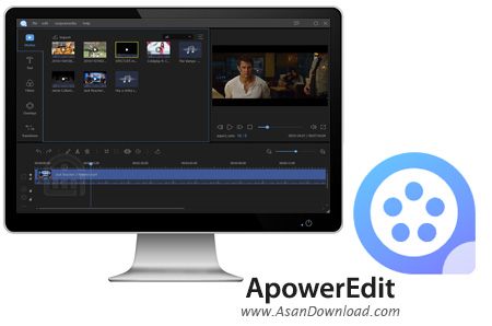 دانلود ApowerEdit v1.4.0 - نرم افزار ویرایش و ساخت فایل های ویدئویی