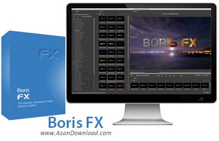 دانلود Boris FX v10.1.0.577 - نرم افزار افکت گذاری روی فیلم ها