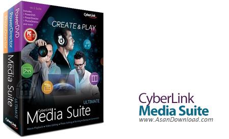 دانلود CyberLink Media Suite Ultimate v15.0.0512.0 + Ultra v13.0.0713.0 - مجموعه کامل نرم افزار های سایبرلینک