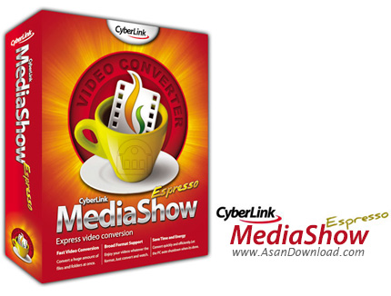 دانلود CyberLink MediaEspresso Deluxe v7.5.8617.61825 - نرم افزار تبدیل فایل های مدیا