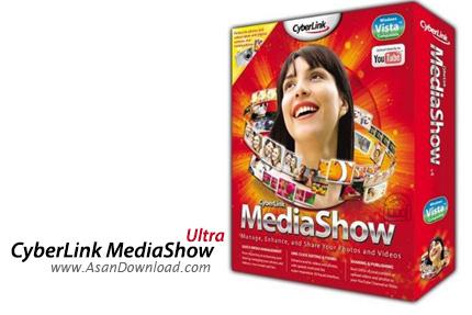 دانلود CyberLink MediaShow Ultra v6.0.11330 - نرم افزار طراحی آلبوم های دیجیتالی