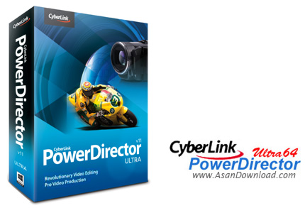 دانلود CyberLink Director Suite v5.0 + PowerDirector Ultimate v16.0.2101.0 + ContentPack - لذت ویرایش فیلم ها