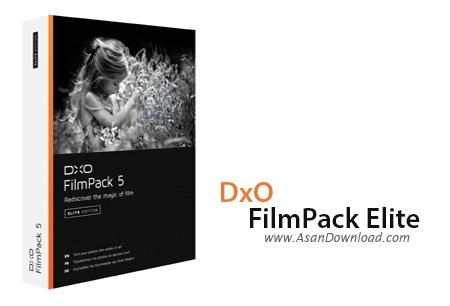 دانلود DxO FilmPack Elite v5.5.1 Build 499 x64 - نرم افزار تبدیل فیلم های قدیمی
