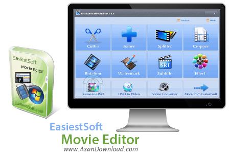 دانلود EasiestSoft Movie Editor v4.8.1 - نرم افزار ویرایش فیلم ها