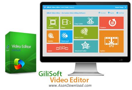 دانلود GiliSoft Video Editor v10.0.0 - نرم افزار ساده ویرایش فیلم