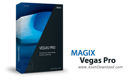 دانلود MAGIX VEGAS Movie Studio Platinum v14.0.0.148 + Vegas Pro v15.0.0.177 + Pro v14.0.0.270 - نرم افزار ویرایش فیلم