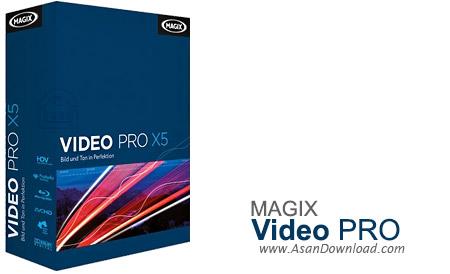 دانلود MAGIX Video Pro X9 v15.0.4.171 - نرم افزار ویرایش فایل های ویدیویی