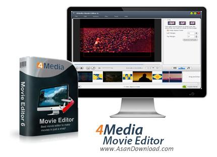 دانلود 4Media Movie Editor v6.6.0.20170210 - نرم افزار ویرایش فایل ویدئویی