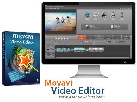 دانلود Movavi Video Editor v14.0.0 - نرم افزاری ساده برای ویرایش فیلم ها