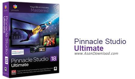 دانلود Pinnacle Studio Ultimate v21.5.0.274 + Full Content Packs - نرم افزار ویرایش و تدوین حرفه ای فیلم