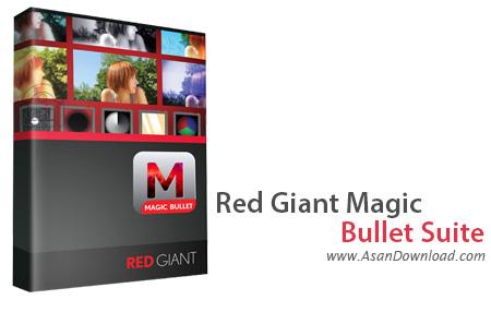 دانلود Red Giant Magic Bullet Suite v12.0.1 - پلاگین ویرایش فیلم ها